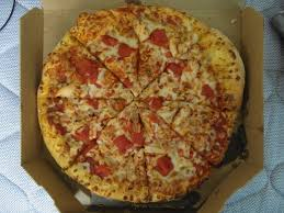 domino pizza hand tossed medium 12 hand tossed pizza with premium chicken and diced
