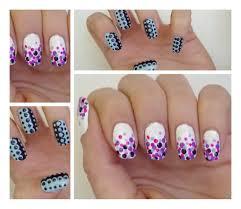 tuto nail art 2 manucures faciles au dotting tool youtube