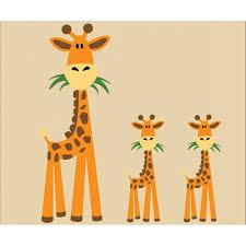 giraffe wall art sticker wall art to create your download