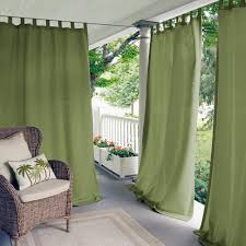 Seafoam Green Window Curtains by Semi Opaque Outdoor Curtains U0026 Drapes Window Treatments