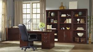 Wooden Desk With Shelves Heritage Hill Collection File Cabinet Home Office Desk With