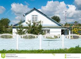 modern country house in russia royalty free stock image image