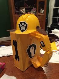rubble paw patrol pup halloween costume halloween