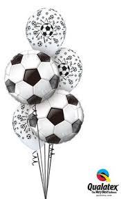 balloon delivery atlanta ga soccer themed balloon centerpiece balloon centerpiece with soccer
