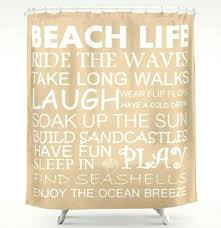 Shower Curtains With Quotes Best 25 Coastal Shower Curtains Ideas On Pinterest Seashell