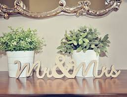 mr and mrs sign for wedding mr mrs wood wedding decoration