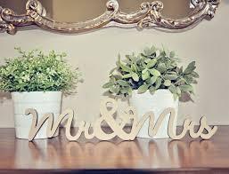 mr and mrs wedding signs mr mrs wood wedding decoration