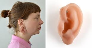 ear earing these earrings look like human ears and if you think they re