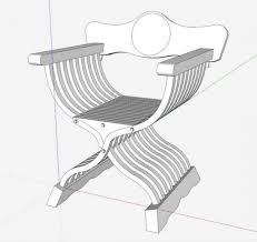 Savanarola Chair The Curule Construction And Ancient X Frame Chair Design