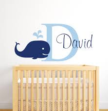 Baby Boy Nursery Decals Whale Room Promotion Shop For Promotional Whale Room On Aliexpress Com