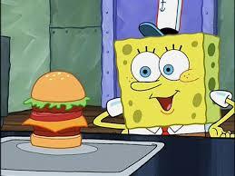 Spongebob Krabby Patty Meme - shell of a man