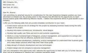 Ux Designer Resume Sample Interface Designer Cover Letter