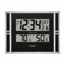 Digital Atomic Desk Clock Digital Clocks Archives Nothin But Clocks
