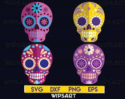 sugar skulls for sale sugar skull svg etsy