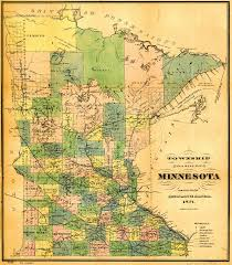 mn counties map usgenweb archives digital maps project minnesota