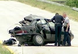 man kills two during 100 mph test drive crash