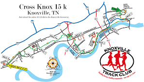 Knoxville Tennessee Map knoxville track club home