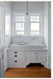 That Sink Sinks I Adore And Want Pinterest Cast Iron Sinks - Kitchen sink in bathroom
