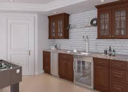 signature chocolate pre assembled kitchen cabinets the pre assembled bar room cabinets bar cabinets the rta store