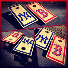 Boston Red Sox Home Decor A New York Yankees Boston Red Sox Board Set Www