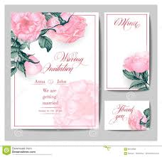Boarding Pass Save The Date Wedding Invitation Cards With Blooming Roses Use For Boarding Pass