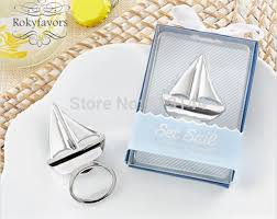 engagement favors free shipping 50pcs sail boat bottle opener bridal shower party