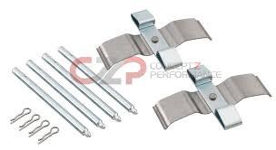 nissan 350z brembo brakes centric front brake pins and clip hardware kit w brembo calipers