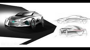 lexus concept sports car lexus lf la concept