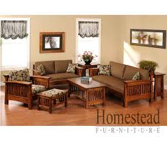 country mission sofa table 4575 homestead furniture