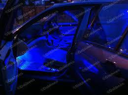 Colored Interior Car Lights Mini Cooper R55 R56 Canbus Error Free Blue Interior Car Led Light