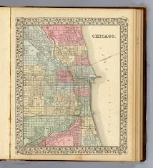 Chicago Street Map by Chicago David Rumsey Historical Map Collection