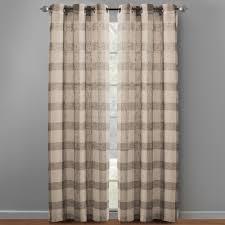 84 u201d plaid grommet top window curtains set of 2 christmas tree