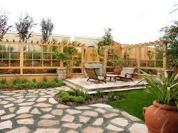 Ideas For Small Backyard Spaces by Modern Home Interior Design Exterior Pretty Garden Design For
