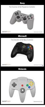 Playstation Meme - sony the evolution of the playstation controller badgetuive