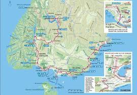Scenic Route Map by Curio Bay Curio Bay Accommodation