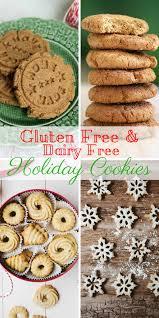 holiday cookies gluten u0026 dairy free my dairyfree glutenfree life