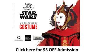 star wars power costume exhibit york