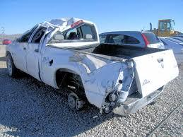 wrecked dodge trucks 2008 dodge ram 4x4 truck