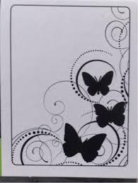 free darice butterfly swirl embossing folder nip scrapbooking