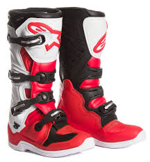 motocross boots alpinestars alpinestars mx boots tech 5 red white black 2017 maciag offroad