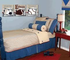 Blue And Red Boys Bedroom Retro Blue U0026 Red Boys Bedroom