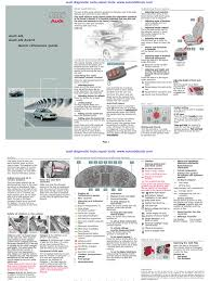 audi a6 quick reference guide diagram user manual headlamp