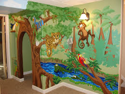 Jungle Nursery Wall Decor Jungle Decor For Nursery Nursery Decorating Ideas