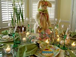 easter decorations for the home easter tablescape