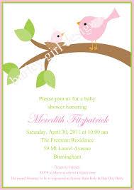 How To Design A Invitation Card Bird Baby Shower Invitations Plumegiant Com
