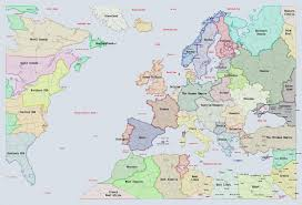 Europe Before 1914 Map by Editable Supremacy 1914 Maps