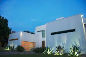 Dallas Outdoor Lighting by House Tour Sophisticated Contemporary Landscape Design