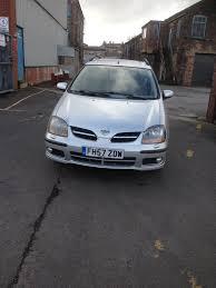 nissan almera tino for sale nissan almera tino se auto in stoke on trent staffordshire