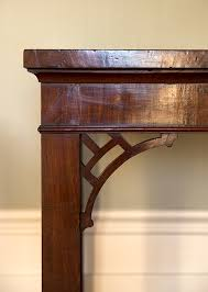 Mahogany Console Table Fine Chinese Chippendale Mahogany Console Table Howe London