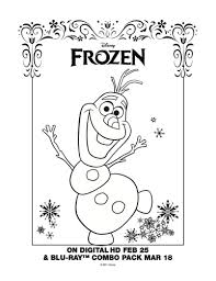 frozen printable snowman coloring printable coloring pages